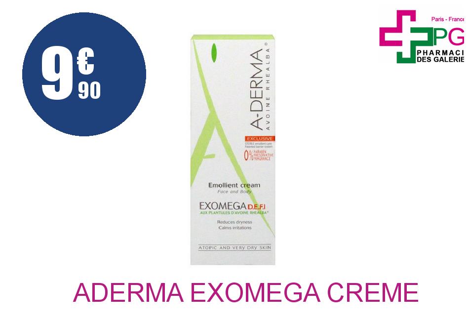 Achetez ADERMA EXOMEGA Crème EM DEFI 50 ML