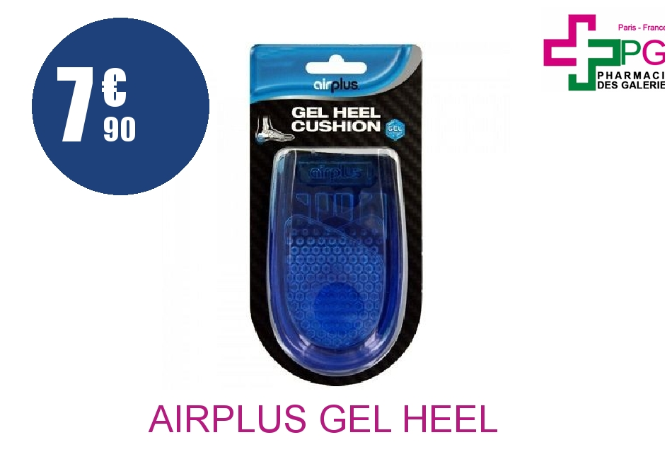Achetez AIRPLUS GEL HEEL CUSHION Coussinet gel homme Paire