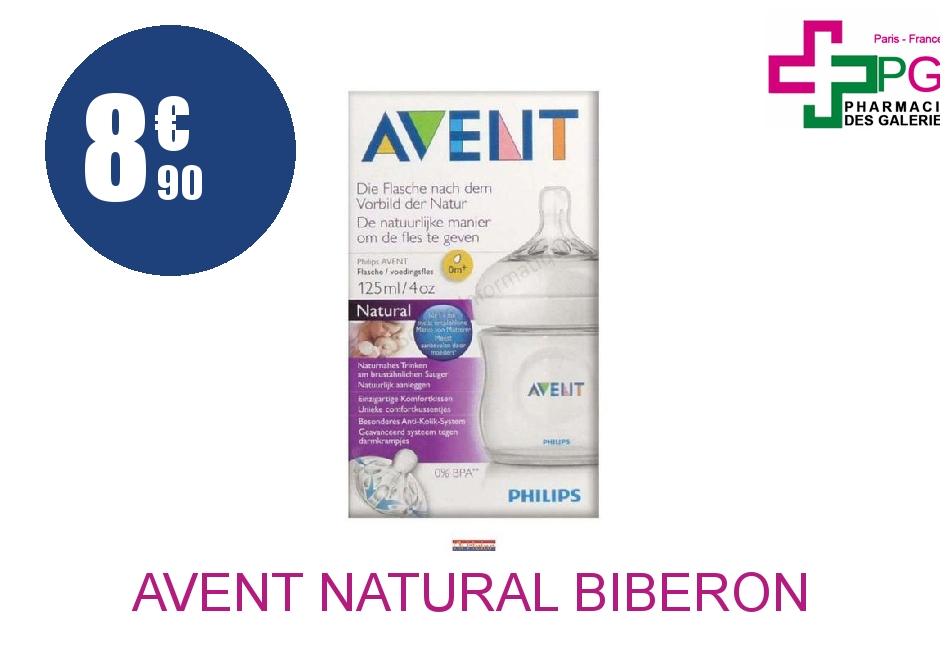 Achetez AVENT NATURAL Biberon polypropylène 125ml