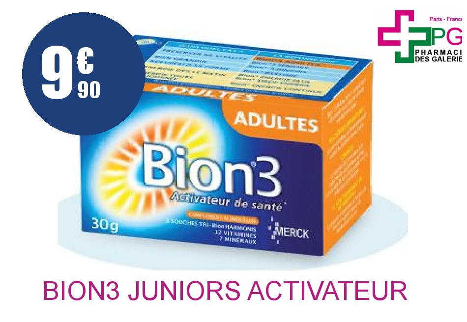 BION3 JUNIORS ACTIVATEUR SANTE BT 30CP