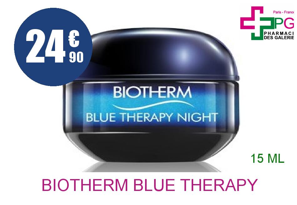 Achetez BIOTHERM BLUE THERAPY Crème anti-âge nuit Pot de 15ml