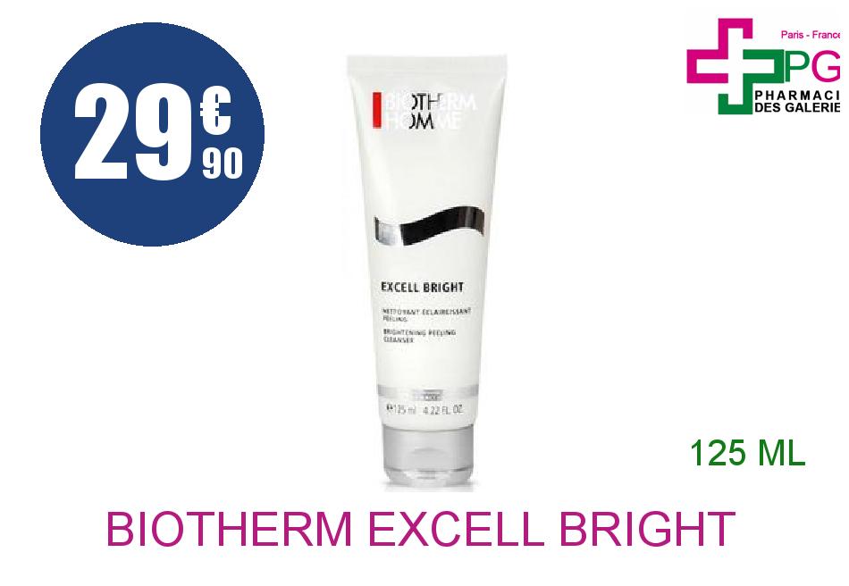 Achetez BIOTHERM EXCELL BRIGHT Gel nettoyant Tube de 125ml