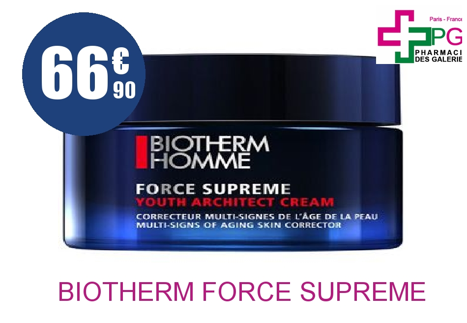BIOTHERM FORCE SUPREME CREME