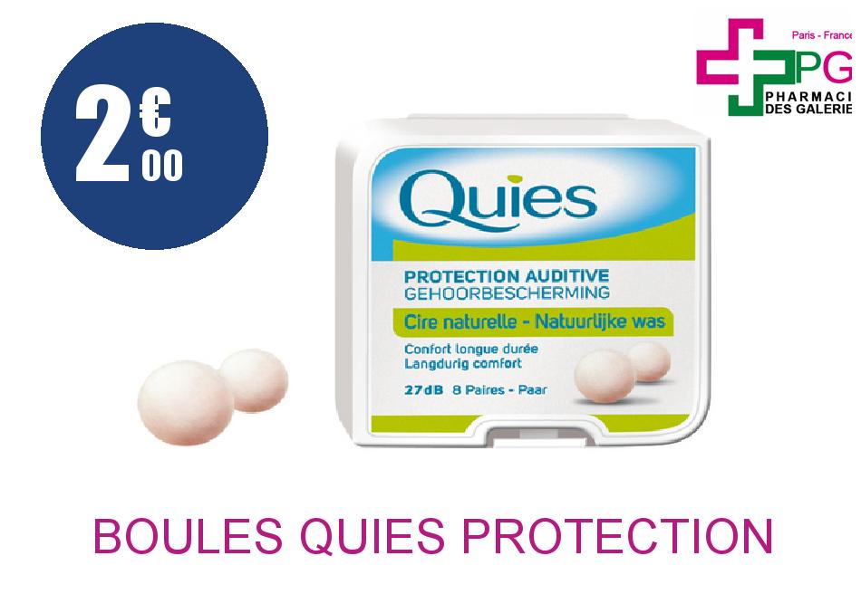 Achetez BOULES QUIES Protection auditive cire naturelle Tube de 4