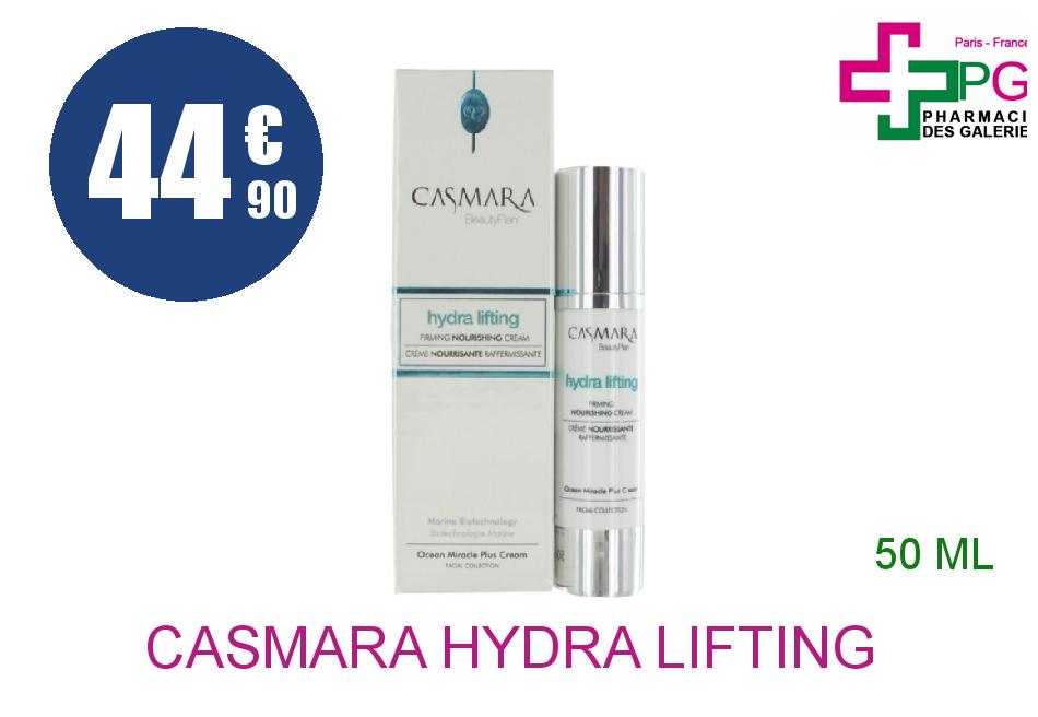 Achetez CASMARA HYDRA LIFTING Gel sébo-équilibrant Flacon Airless de 50ml