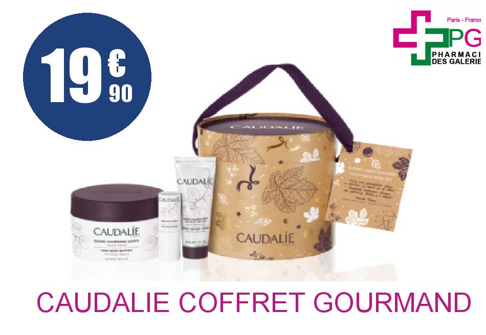 CAUDALIE COFFRET GOURMAND 2016
