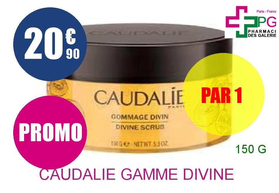 Achetez CAUDALIE GAMME DIVINE Crème gommage divin Pot de 150g