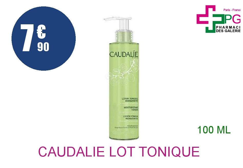 Achetez CAUDALIE Lot tonique hydratante Flacon de 100ml