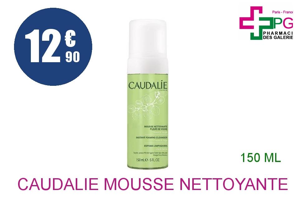 Achetez CAUDALIE Mousse nettoyante fleur de vigne Flacon Pompe de 150ml