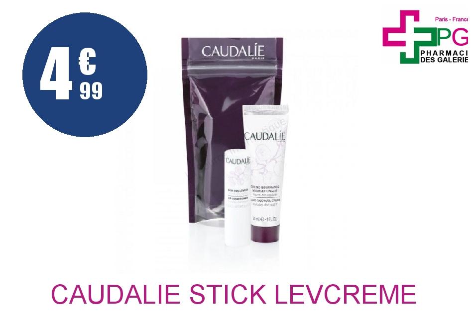 CAUDALIE STICK LEV+Crème MAIN 30ML