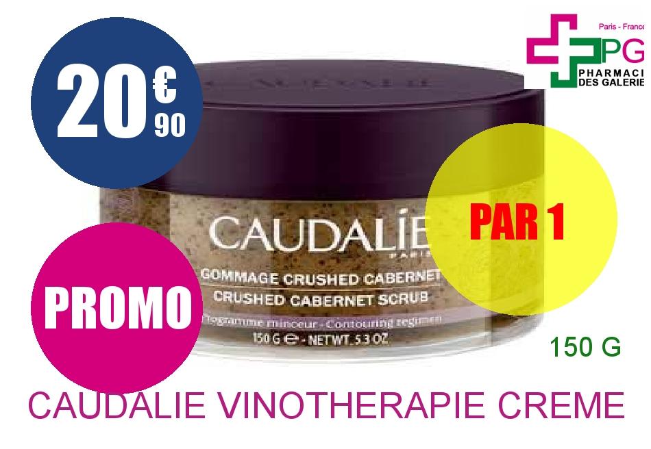 Achetez CAUDALIE VINOTHERAPIE Crème gommage Crushed Cabernet Pot de 150g