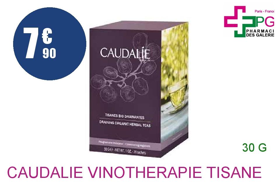 Achetez CAUDALIE VINOTHERAPIE Tisane bio drainante Boîte de 30g