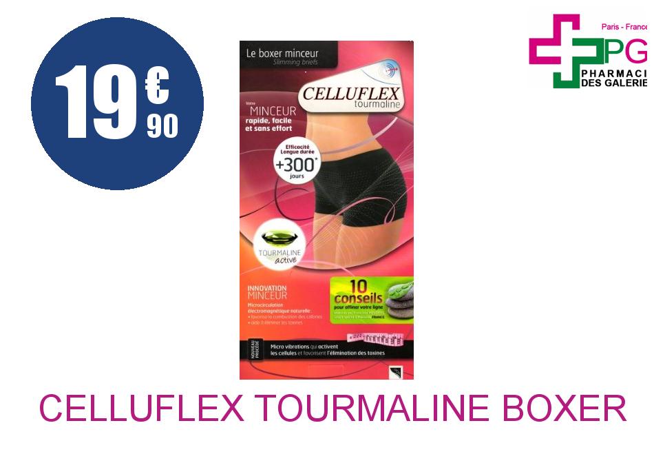 Achetez CELLUFLEX TOURMALINE Boxer minceur noir S/M