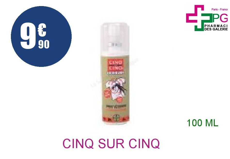 Achetez CINQ SUR CINQ Solution vêtements Spray de 100ml