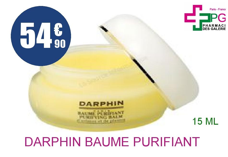Achetez DARPHIN Baume purifiant aromatique bio Pot de 15ml