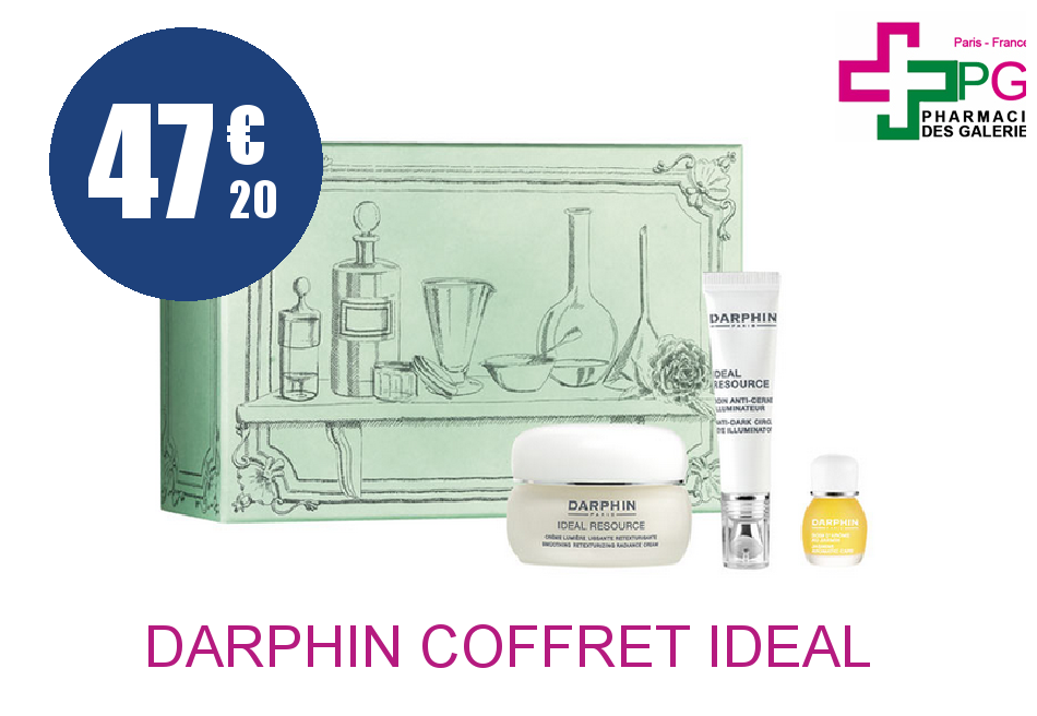 Achetez DARPHIN COFFRET IDEAL RESSOURCE NOEL 2016