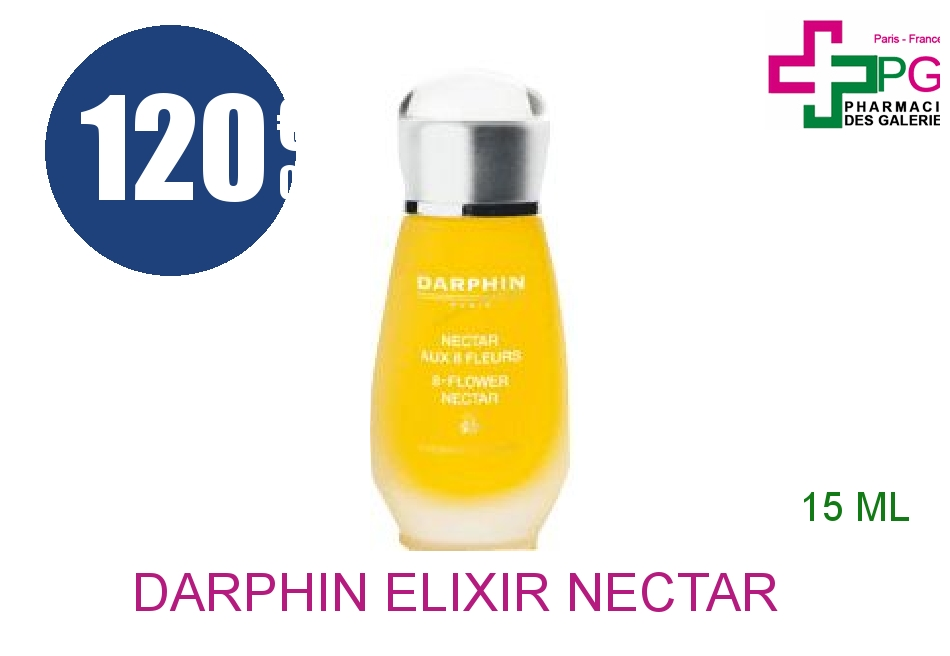 Achetez DARPHIN Elixir nectar aux 8 fleurs Flacon de 15ml
