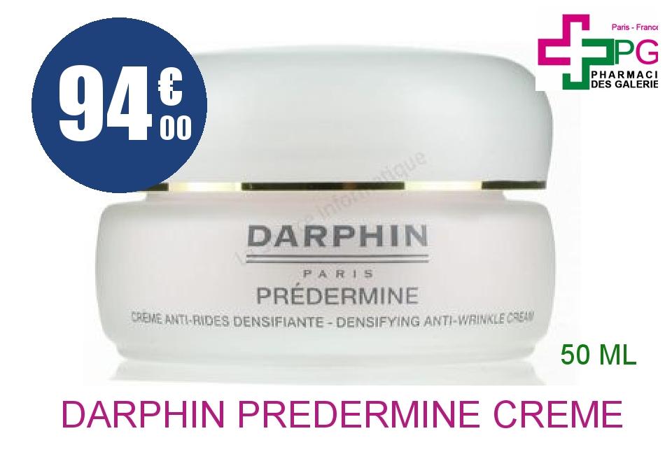Achetez DARPHIN PREDERMINE Crème anti-rides densifiante peau sèche Pot de 50ml