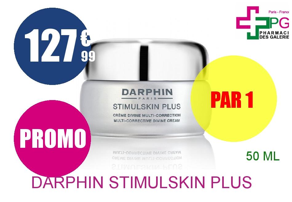 DARPHIN STIMULSKIN PLUS Crème divine multi-correction peau normale à sèche Pot de 50ml