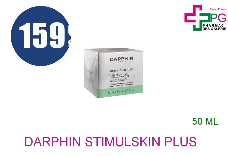 DARPHIN STIMULSKIN PLUS Crème divine multi-correction peau sèche à très sèche Pot de 50ml