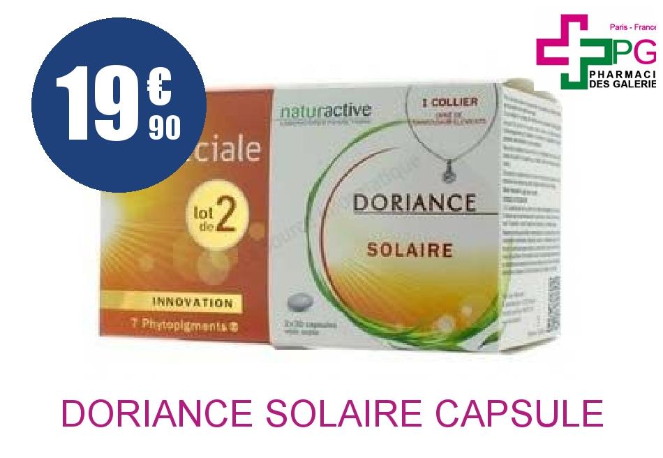 Achetez DORIANCE SOLAIRE Capsule 2 Boîte de 30