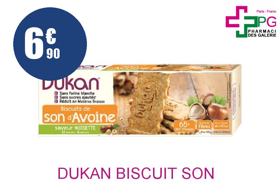 Achetez DUKAN Biscuit son d'avoine noisette 6 Sachet de 3