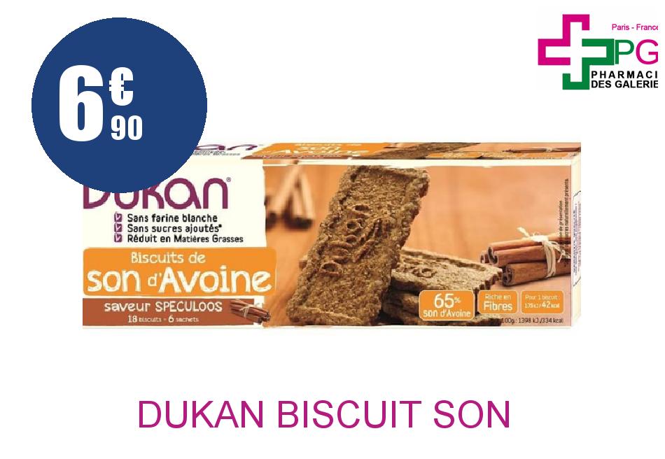 Achetez DUKAN Biscuit son d'avoine speculoos 6 Sachet de 3
