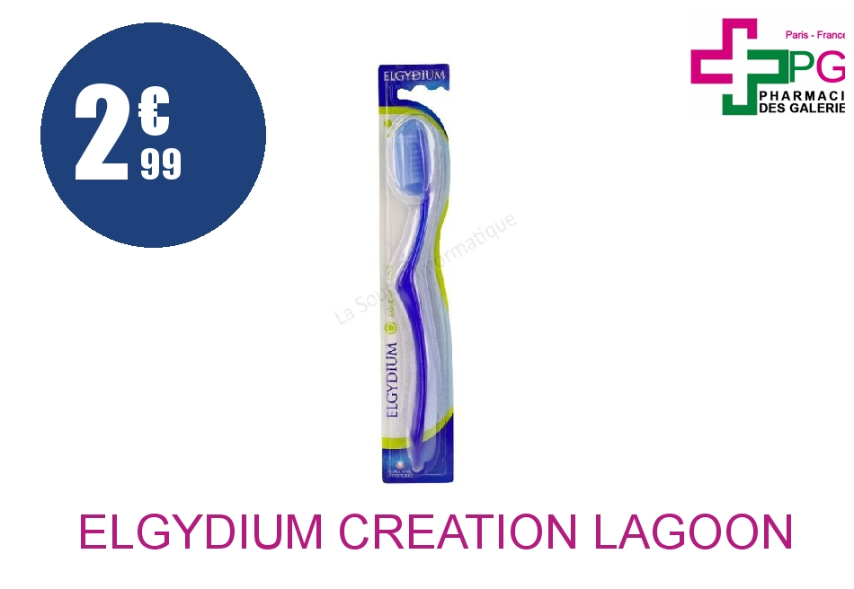 Achetez ELGYDIUM CREATION LAGOON Brosse dents souple