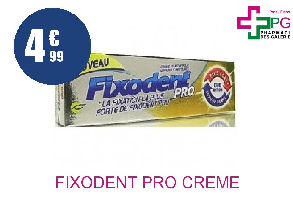 FIXODENT PRO Crème FIX PROTH DENT NATURE Tube de 40ML