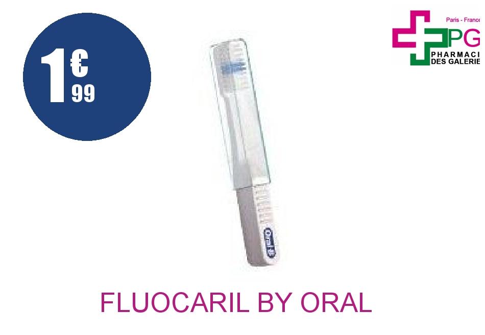 Achetez FLUOCARIL BY ORAL B Brosse dents voyage souple
