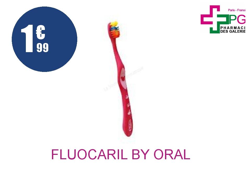 Achetez FLUOCARIL BY ORAL B Brosse dents médium kids 2/6 Ans