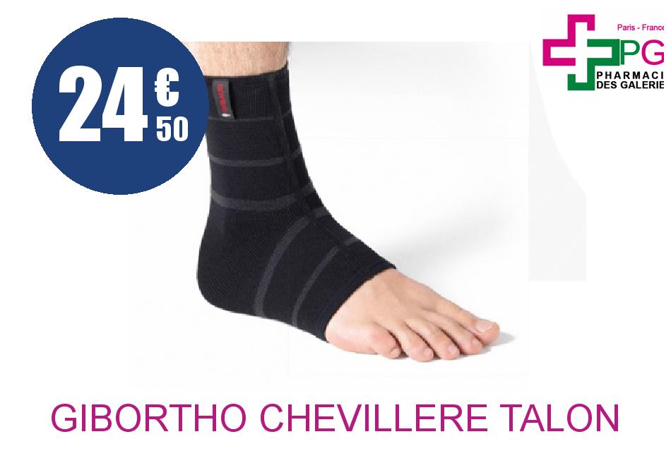 Achetez GIBORTHO Chevillère talon fermé contention corde 21/23 Taille 1