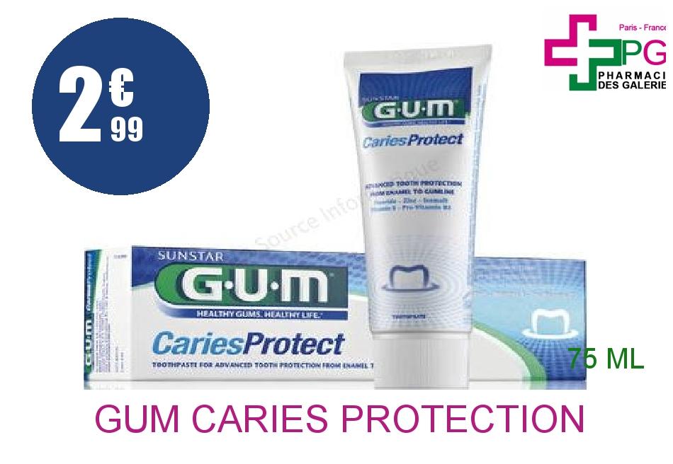 Achetez GUM CARIES Protection Pâte dentifrice Tube de 75ml