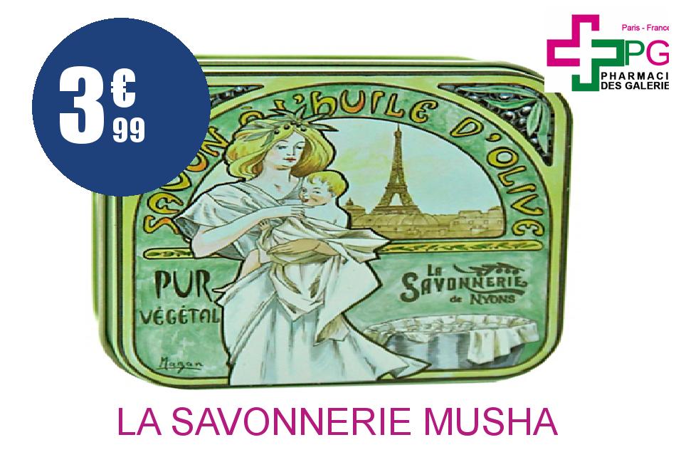 Achetez LA SAVONNERIE MUSHA 3