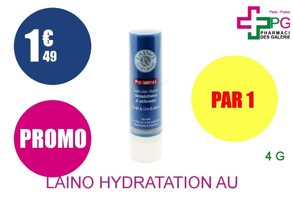 LAINO HYDRATATION AU NATUREL Stick lèvres Pro intense Etui de 4g