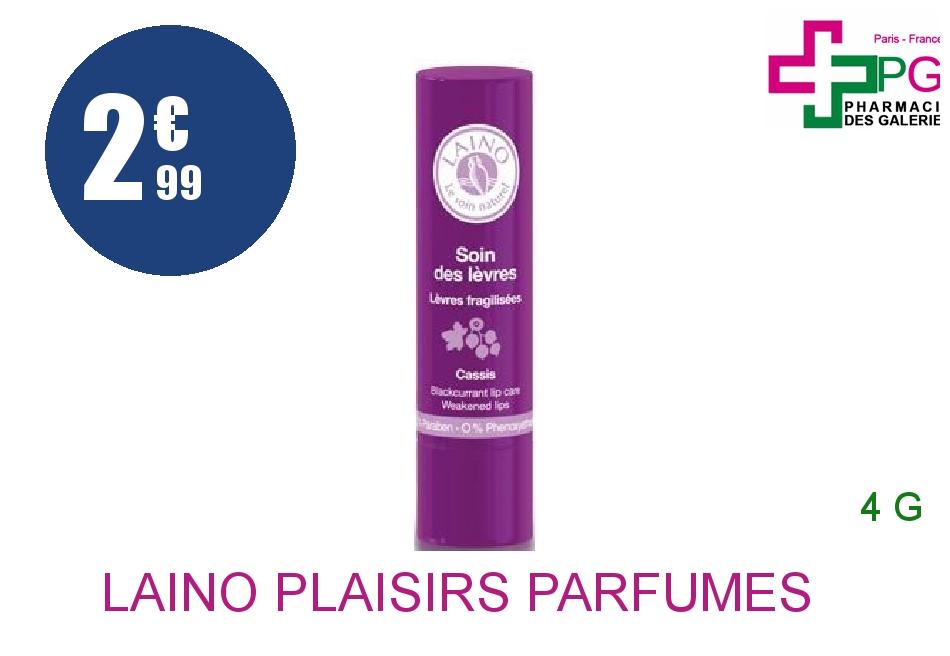 Achetez LAINO PLAISIRS PARFUMES Stick soin des lèvres cassis 4g