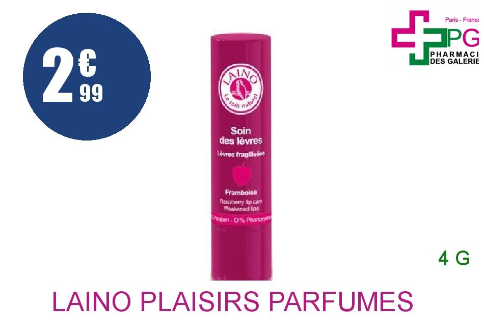 Achetez LAINO PLAISIRS PARFUMES Stick soin des lèvres framboise 4g