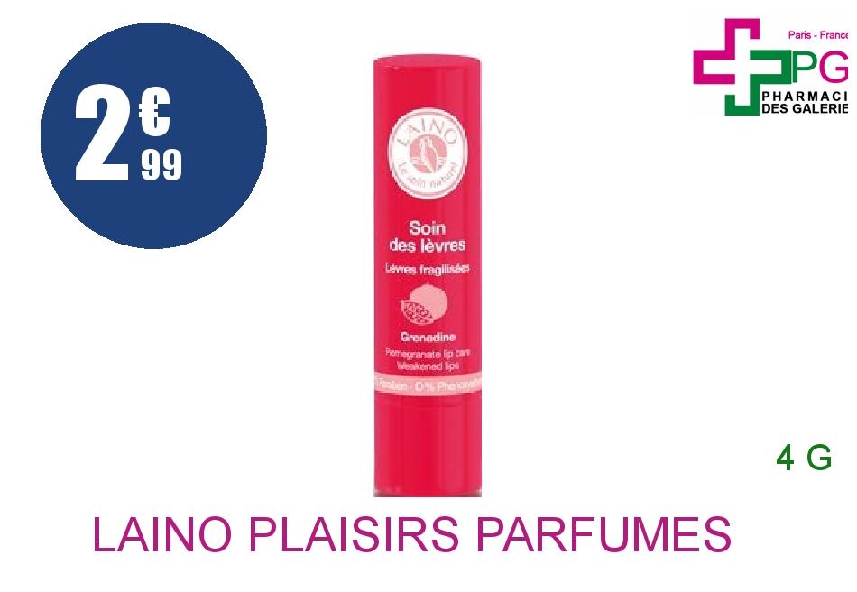 Achetez LAINO PLAISIRS PARFUMES Stick soin des lèvres grenadine 4g