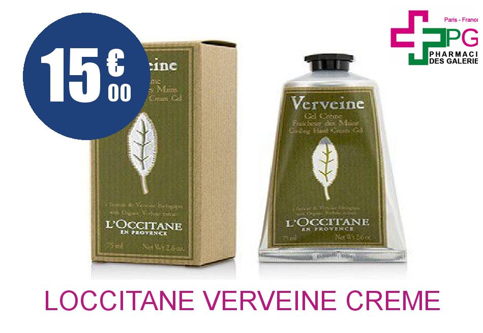 Achetez LOCCITANE VERVEINE Crème MAIN 75 ML