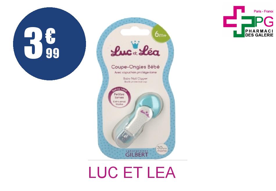 LUC ET LEA Coupe-ongles bébé