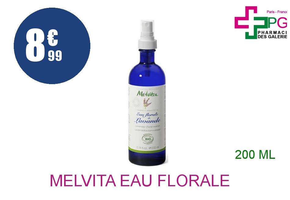 MELVITA Eau florale lavande Brumisateur de 200ml