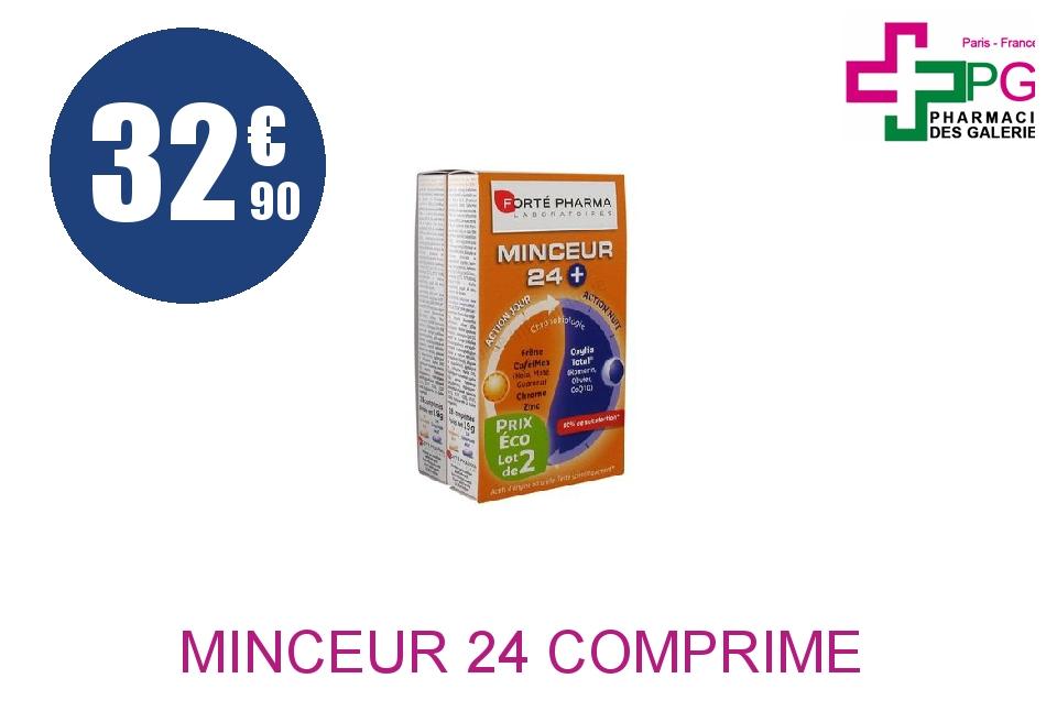 Achetez MINCEUR 24+ Comprimé 2 Boîte de 28