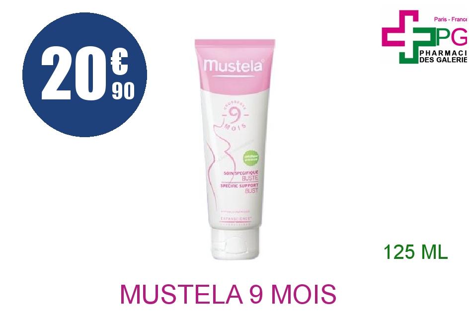 Achetez MUSTELA 9 Mois Crème soin spécifique buste Tube de 125ml