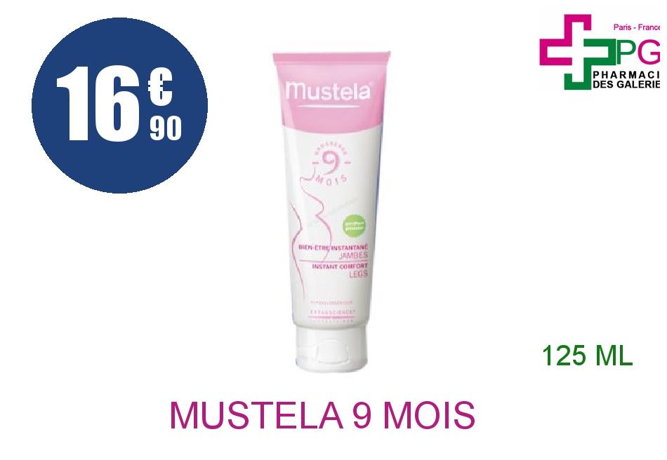 Achetez MUSTELA 9 Mois Crème bien-être jambes Tube de 125ml