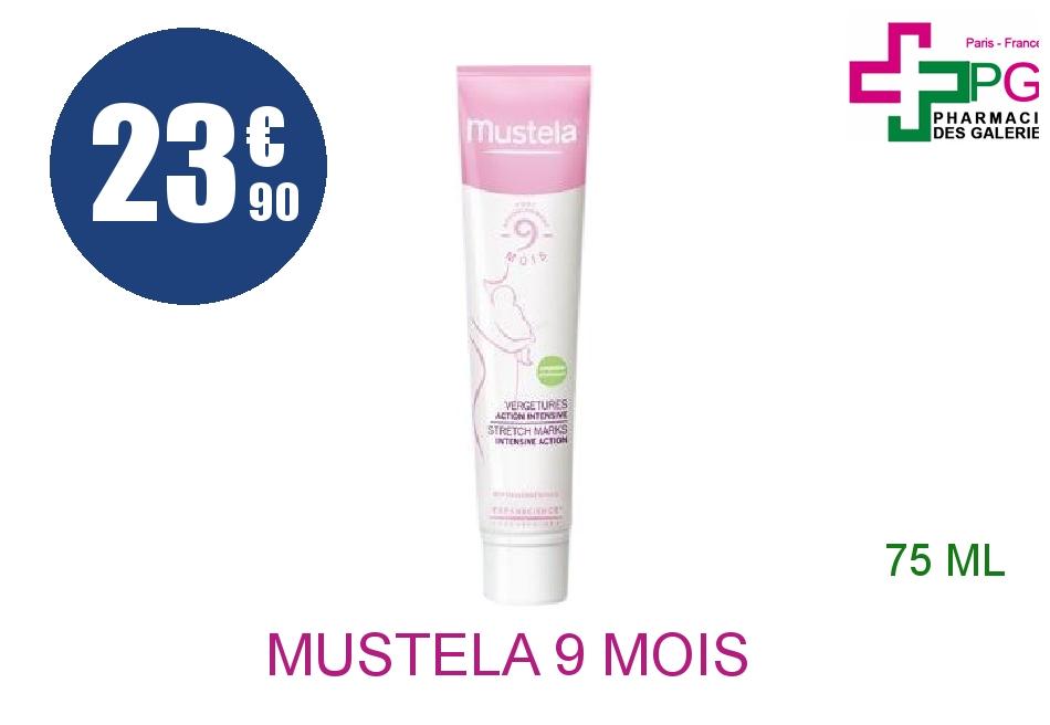 Achetez MUSTELA 9 Mois Crème vergetures action intensive Flacon Pompe de 75ml