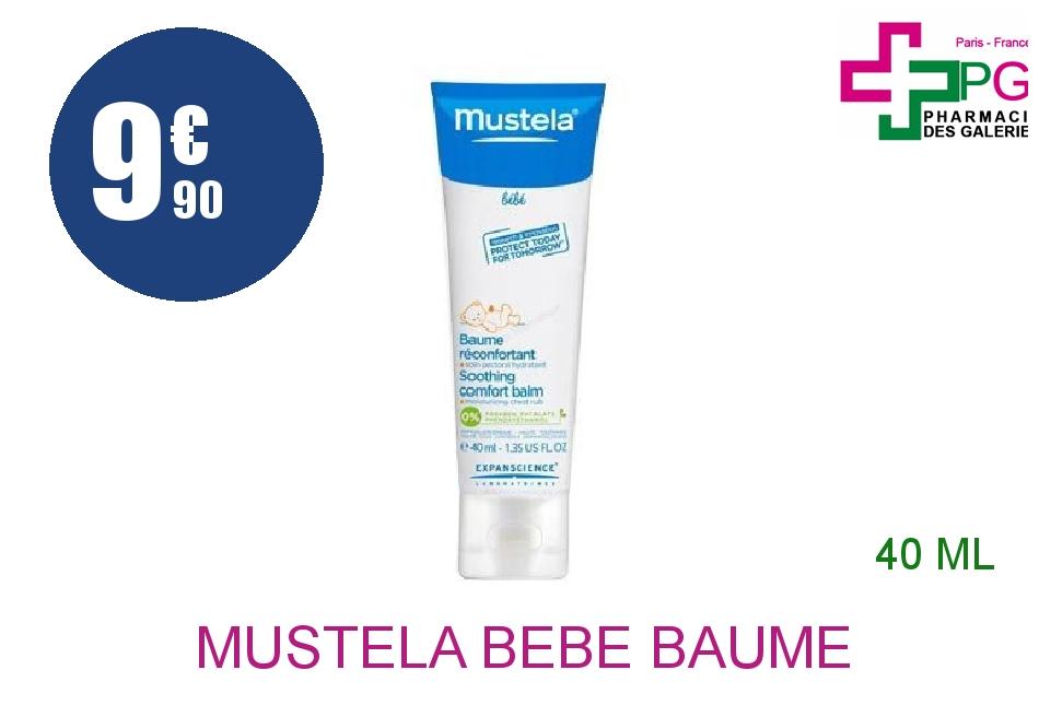 Achetez MUSTELA BEBE Baume réconfortant Tube de 40ml