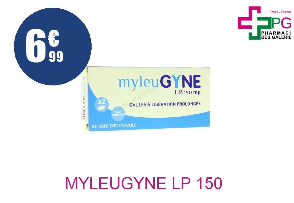 MYLEUGYNE LP 150 mg Ovule Libération Prolongée Plaquette de 2