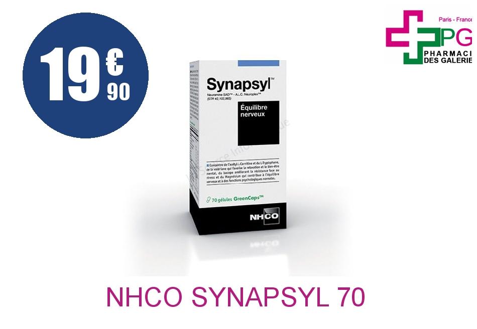 Achetez NHCO SYNAPSYL 70 GELULES