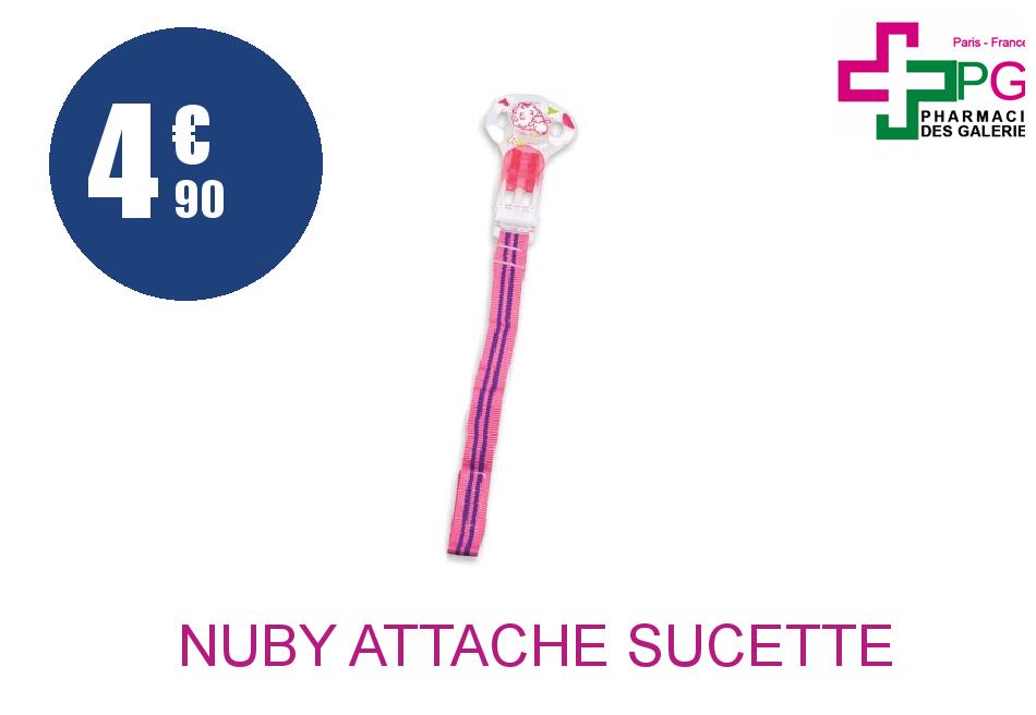 Achetez NUBY ATTACHE SUCETTE
