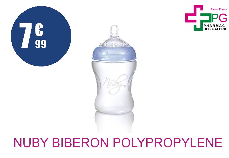 Achetez NUBY BIBERON POLYPROPYLENE 300ML +4 Mois